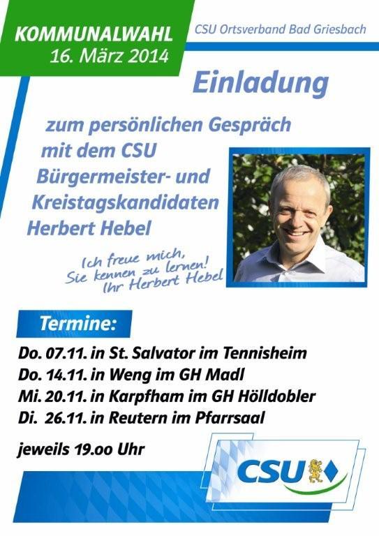 CSU Plakat_Treffen_Herbert_Hebel_2 Kopie