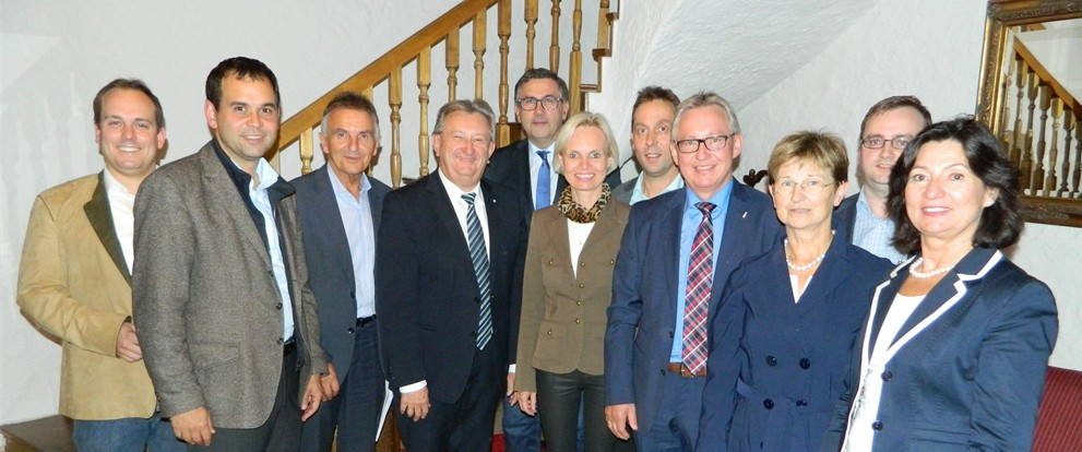Gemeinsame CSU Kreisvorstandssitzung Passau Stadt und Land in Erlau