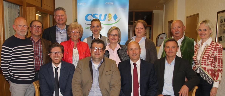 CSU Jahreshauptversammlung 2017